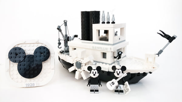 LEGO Ideas - Steamboat Willie