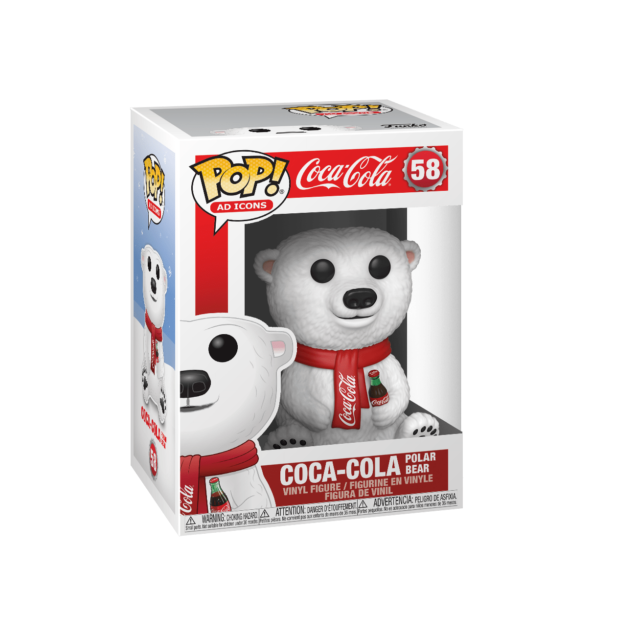 POP! Funko - #58 Coca Cola Bear