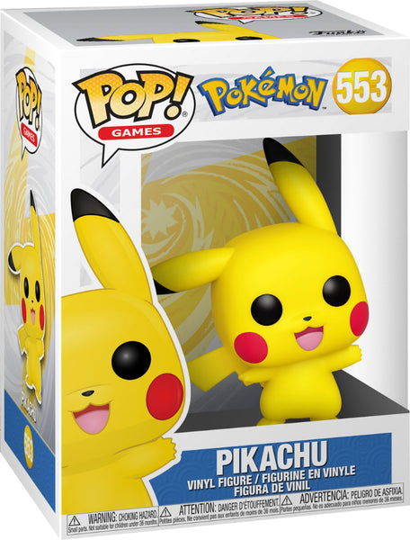 POP! Funko - #553 Pikachu (Pokemon)