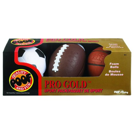 PRO Gold Sport 3 Ball Pack POOF