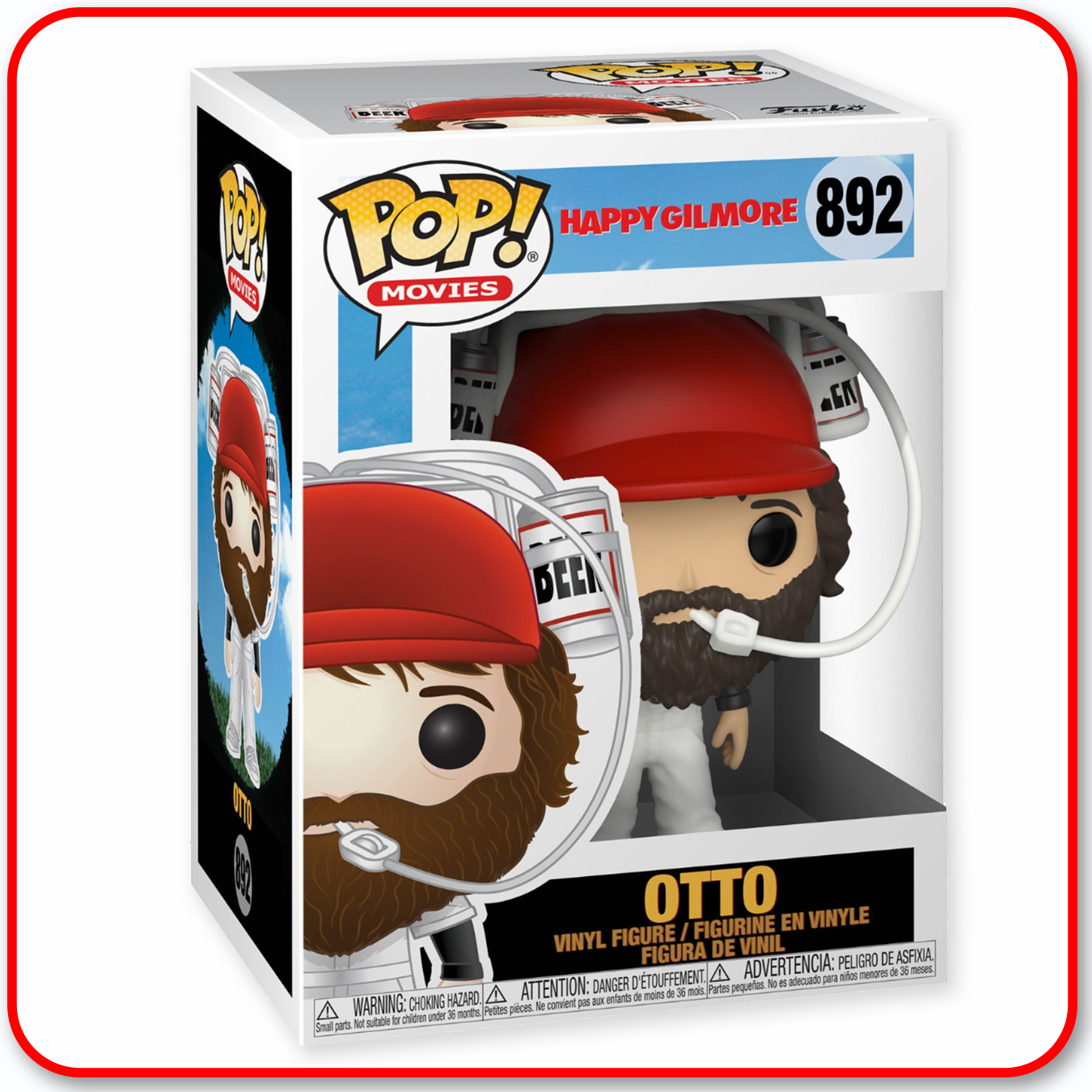 POP! Funko - Happy Gilmore : Otto #892