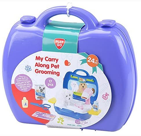 PLAYGO MY CARRY ALONG PET GROOMING