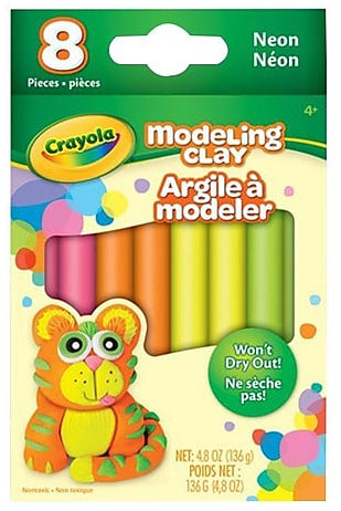 Modelling Clay - Neon 8 Pack