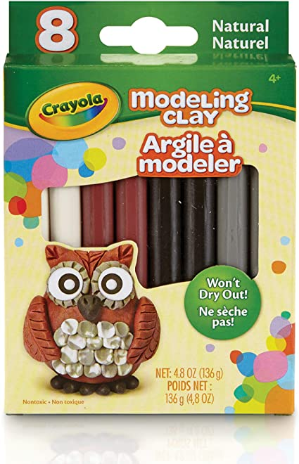 Modelling Clay - Natural 8 Pack