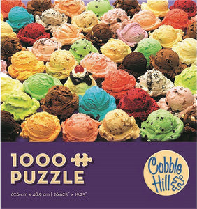 Ice Cream - Cobble Hill 1000pc Modular Puzzle