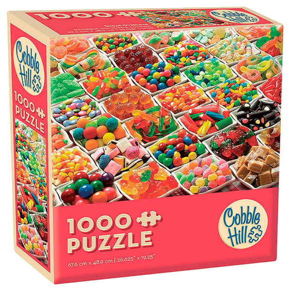 Sugar Overload - Cobble Hill 1000pc Modular Puzzle