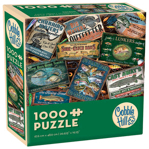 Fish Signs - Cobble Hill 1000pc Modular Puzzle