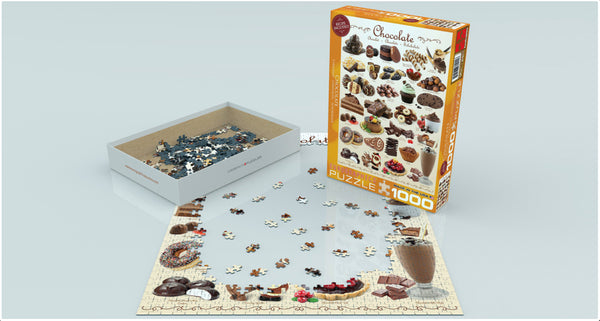 Chocolate - 1000pc Eurographics Puzzle