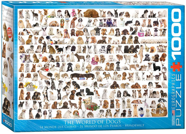The World of Dogs - 1000pc Eurographics Puzzle