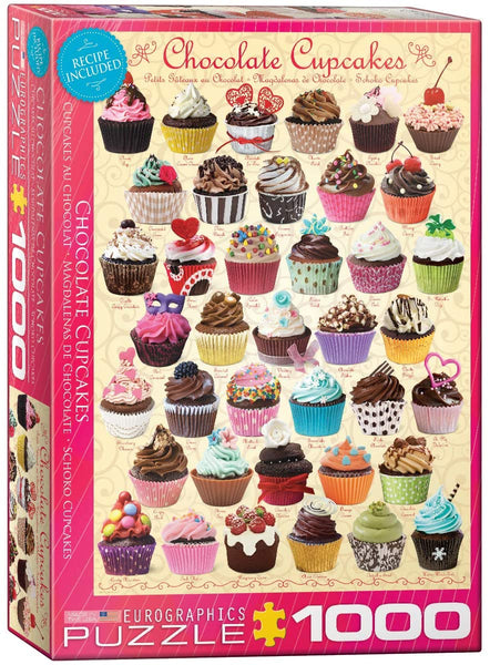 Chocolate Cupcakes - 1000pc Eurographics Puzzle