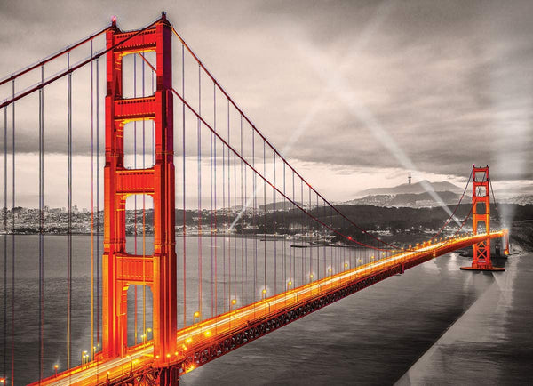 San Francisco, Golden Gate Bridge - 1000pc Eurographics Puzzle