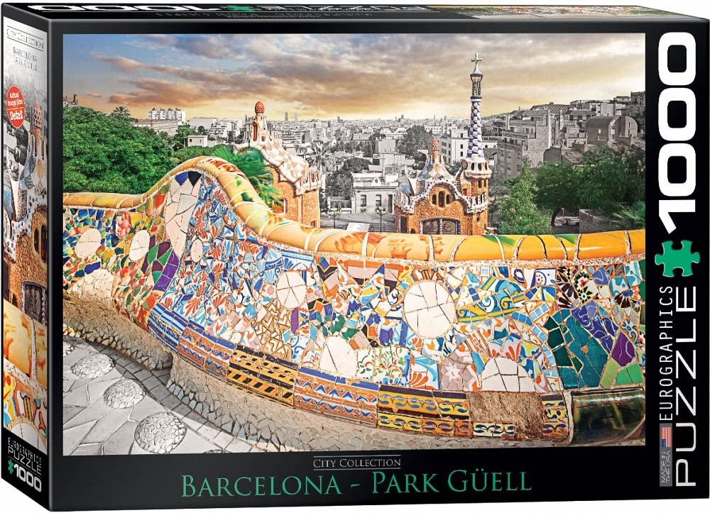 Barcelona Park Guell - 1000pc Eurographics Puzzle