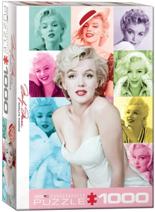 Marilyn Monroe : Color Portraits - 1000pc Eurographics Puzzle