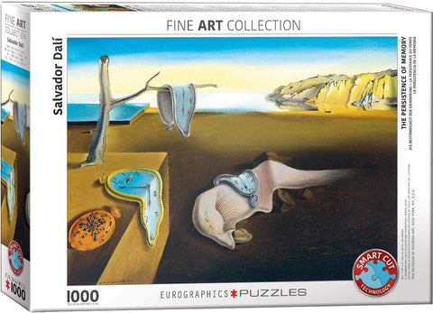Fine Art : The Persistance of Memory - 1000pc Eurographics Puzzle