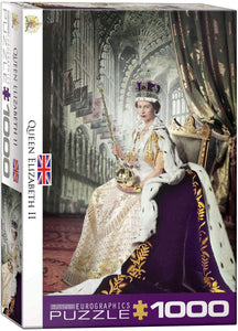 Queen Elizabeth II - 1000pc Eurographics Puzzle