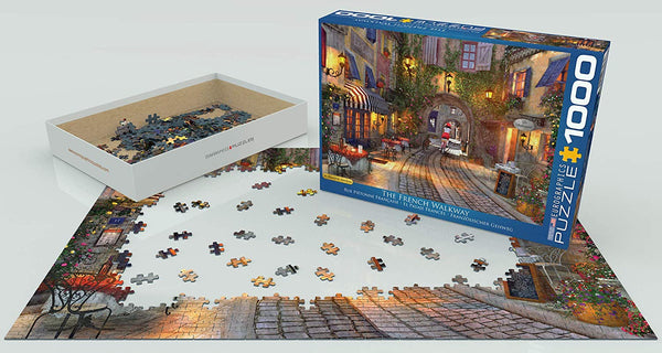 The French Walkway - 1000pc Eurographics Puzzle