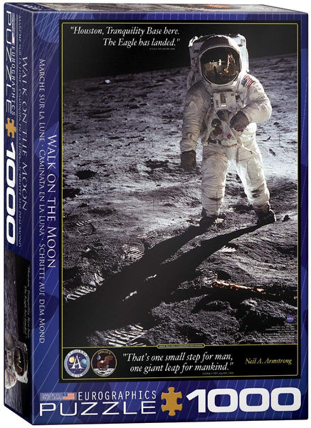 Walk on the Moon - 1000pc Eurographics Puzzle