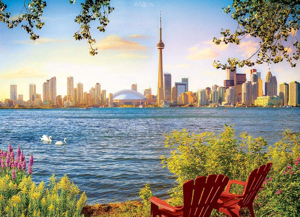 View from Toronto Island - 1000pc Eurographics Puzzle