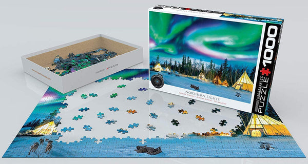 Northern Lights, Yellowknife - 1000pc Eurographics Puzzle
