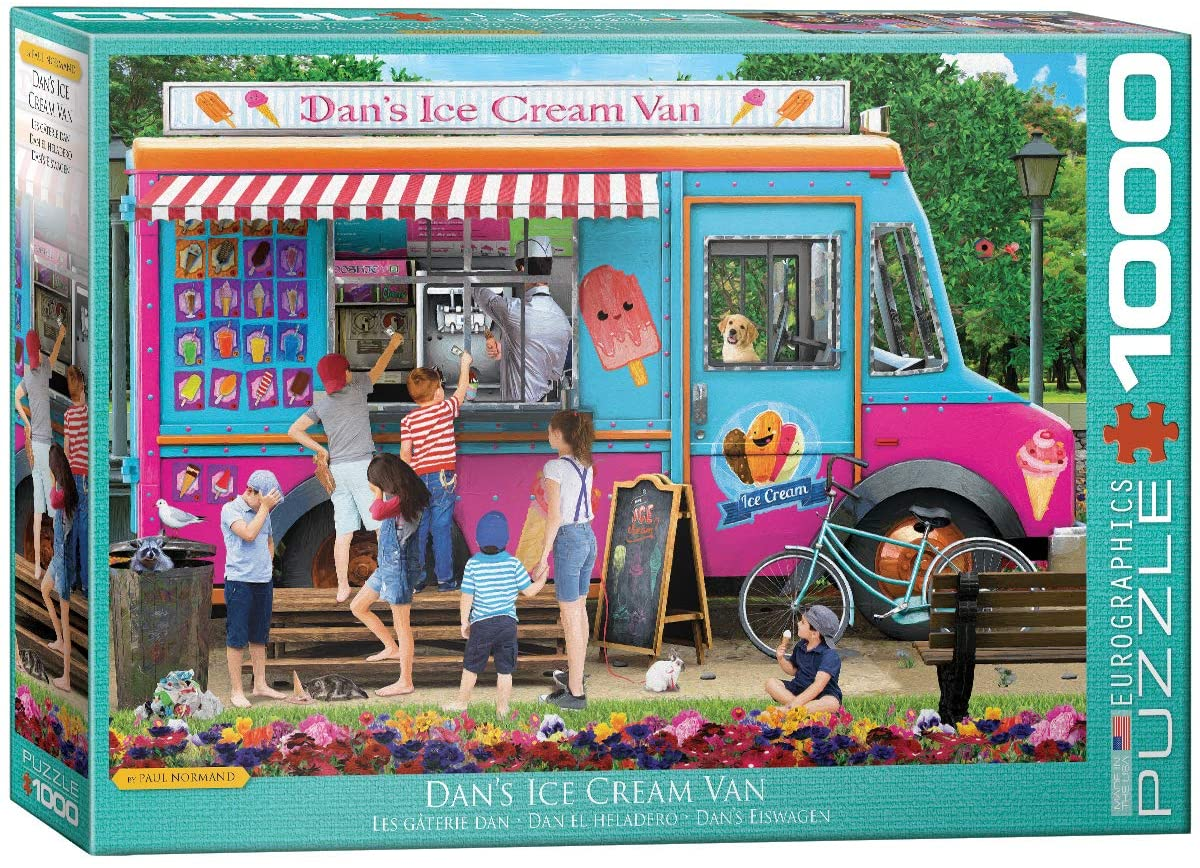 Dan's Ice Cream Van - 1000pc Eurographics Puzzle
