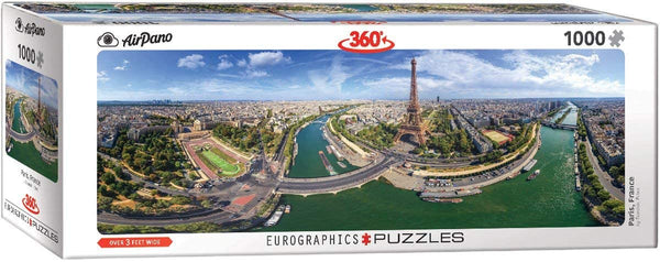 Paris, France - 1000pc Eurographics Puzzle