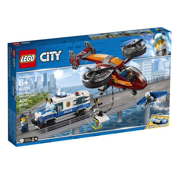 LEGO City - Sky Police Diamond Heist