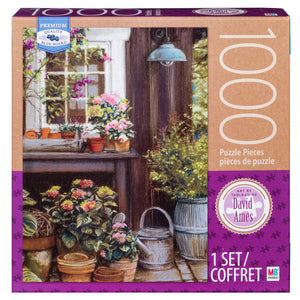 MB Puzzle : David Ames Potting Table - 1000pc
