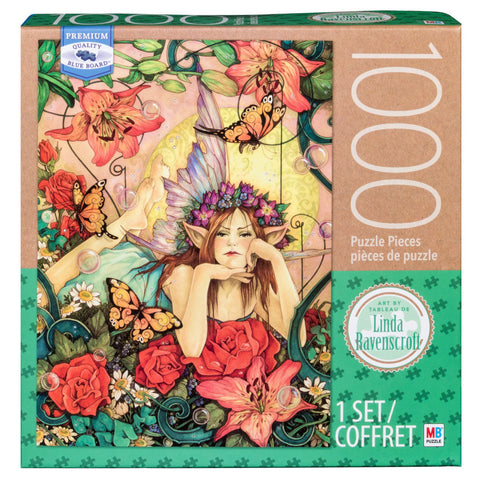 MB Puzzle : Linda Ravenscroft Florabundance - 1000pc