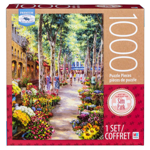MB Puzzle : Sam Park Nabornne, South France - 1000pc