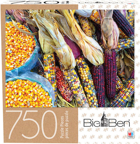 Big Ben Puzzle : Colourful Corn - 750pc