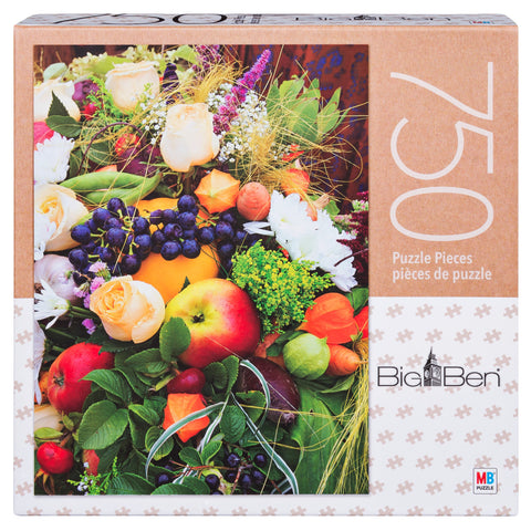 Big Ben Puzzle : Fruits & Flowers - 750pc
