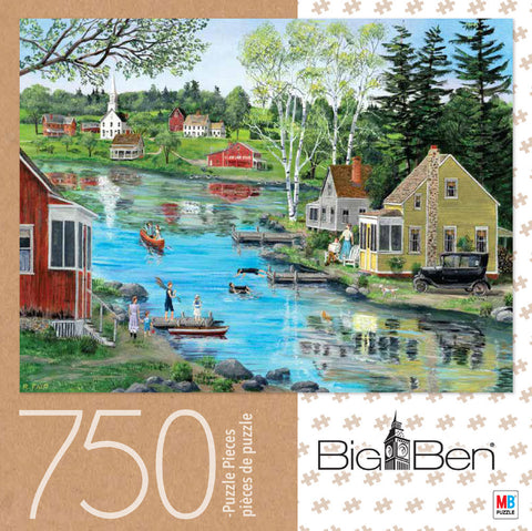 Big Ben Puzzle : Glass Lake - 750pc