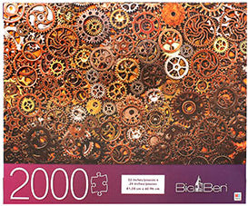 Big Ben Puzzle : Clockwork - 2000pc