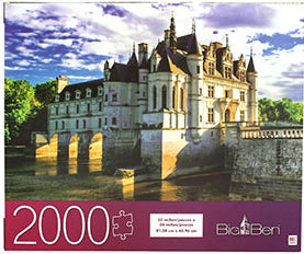 Big Ben Puzzle : Majestic Chenonceau  Castle - 2000pc