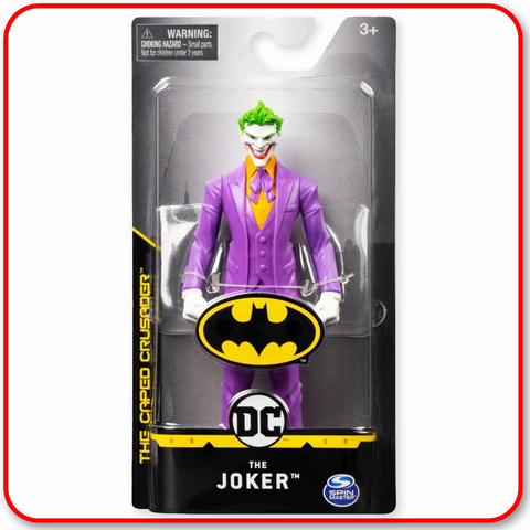 "DC The Caped Crusader : Joker 6"" Figure"