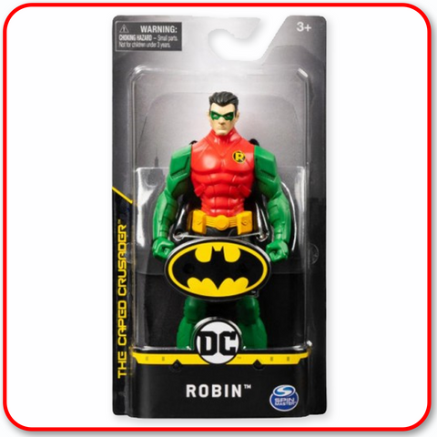 "DC The Caped Crusader : Robin 6"" Figure"