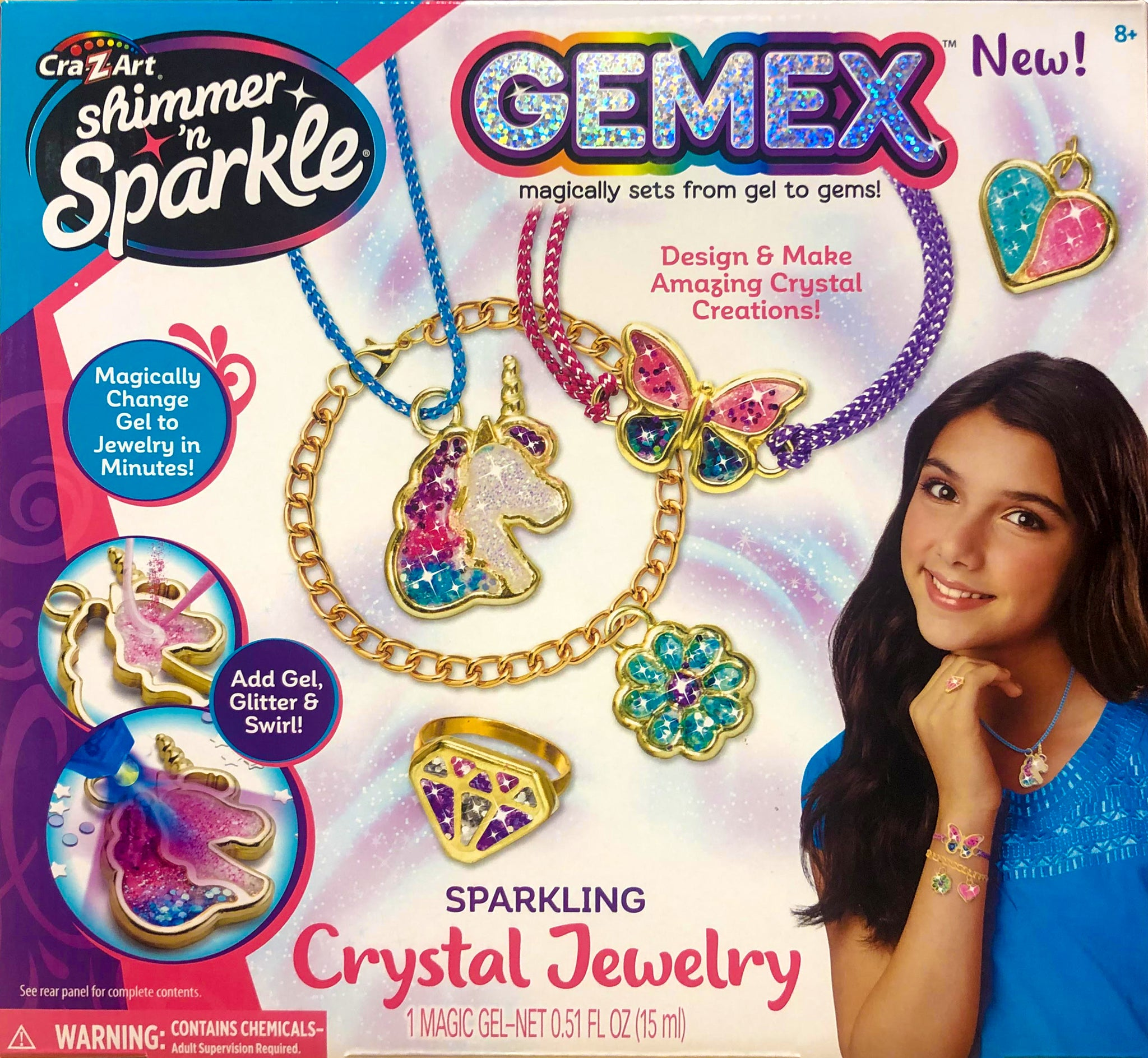 Shimmer n Sparkle - GEMEX : Crystal Jewelry Kit