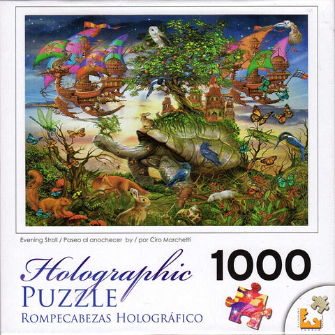 Holographic Puzzle Evening Stroll - 1000pc