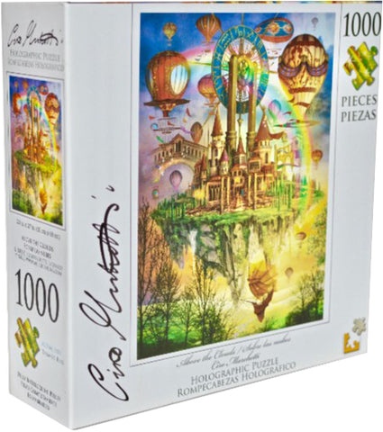 Holographic Puzzle : Ciro Marchetti  Above the Clouds - 1000pc