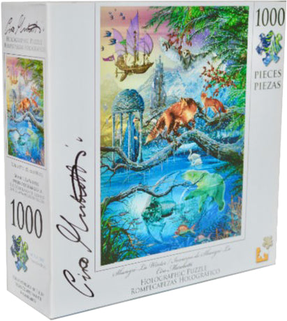 Holographic Puzzle Ciro Marchetti : Shangri-La Winter - 1000pc