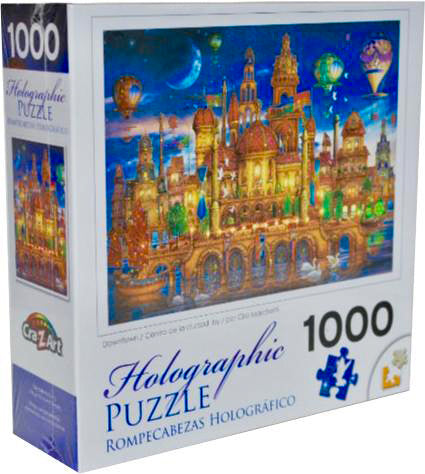 Holographic Puzzle : Downtown - 1000pc