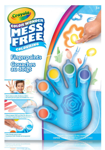 Color Wonder - Fingerpaint & Paper Set