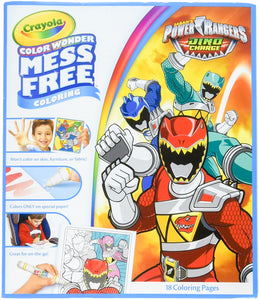 Color Wonder - Colouring Book Refill Power Rangers