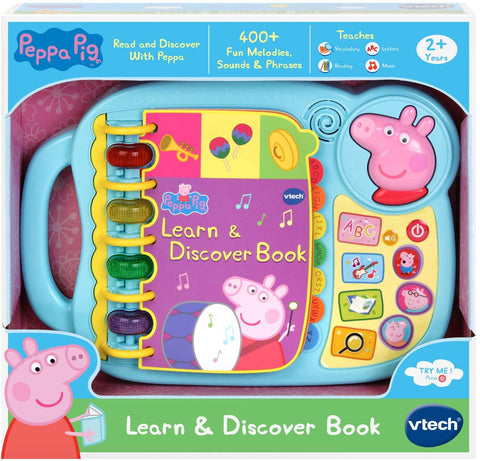 VTech Peppa Pig - Learn & Discover Book