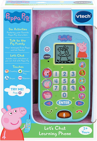 VTech Peppa Pig - Lets Chat Learning Phone