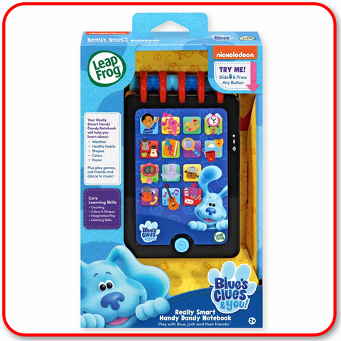 Leap Frog Blue Clues - Really Smart Handy Dandy Notebook