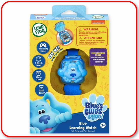 Leap Frog Blue Clues - Blue Learning Watch