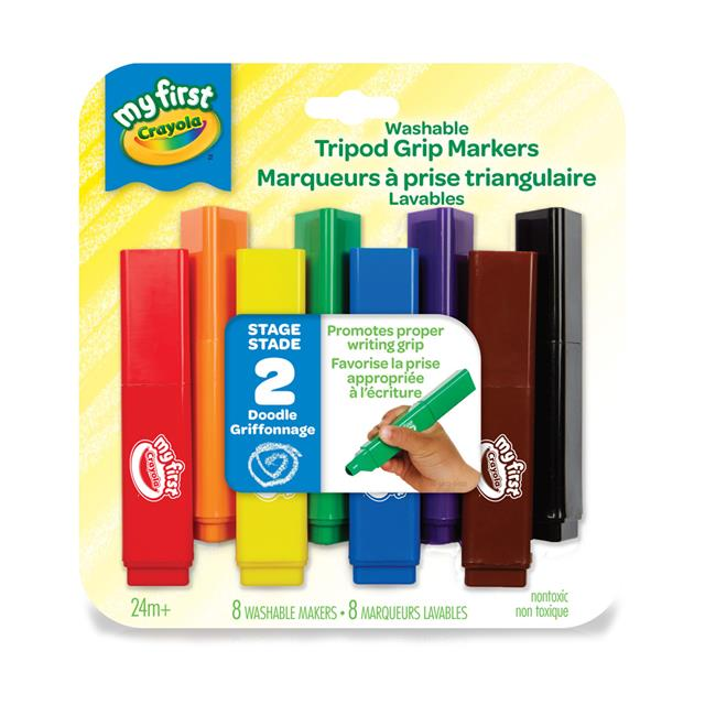 My First Crayola - Tripod Grip Markers