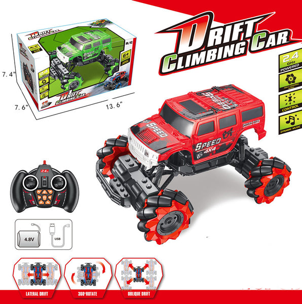 Drift Climbing Jeep - 1:14 Remote Control Truck