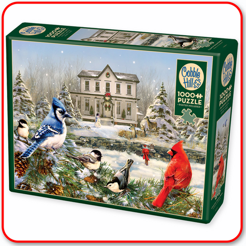 Country House Birds - Cobble Hill 1000pc Puzzle